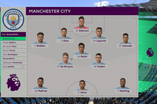 We simulated Man City vs Burnley to get a score prediction ...