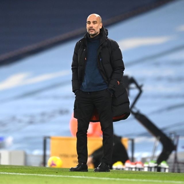 Pep Guardiola plays down idea of resting Man City players in Champions  League - Manchester Evening News