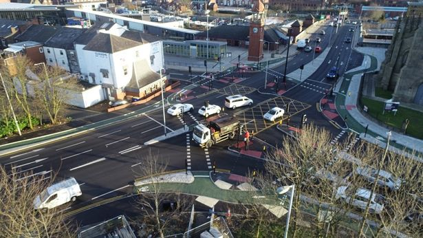 Brand new CYCLOPS Junction in Bolton Town Center