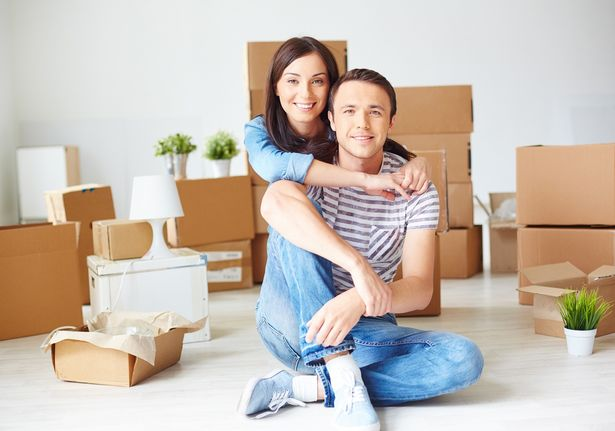 A 95% mortgage helps potential buyers step on the property ladder