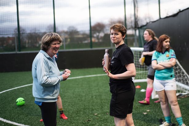 Players of all ages are enjoying training at Manchester Les