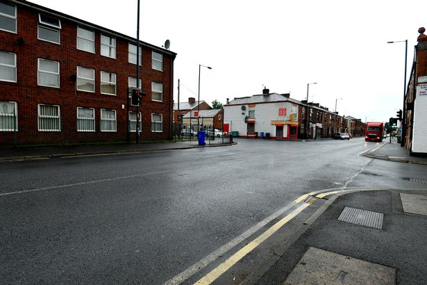 The junction of Denton Road and Egerton Street
