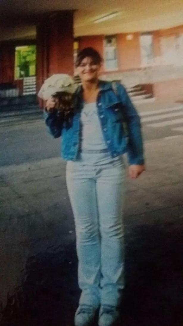 Becky in 1994