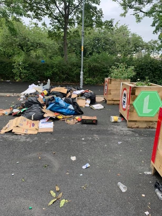 Items discarded as main route.