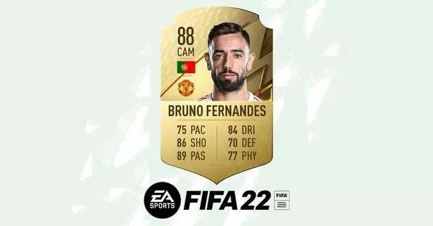 Bruno Fernandes in FIFA 22