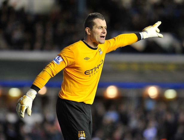 Former Manchester City shot-stopper Shay Given.