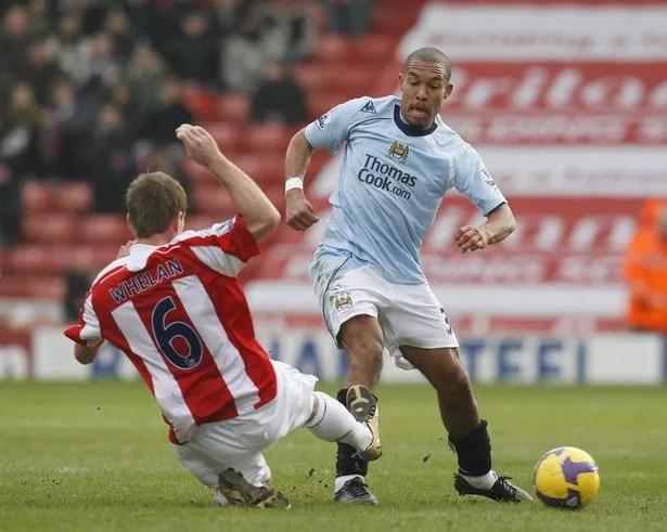 Nigel de Jong in action for Manchester City back in 2009.