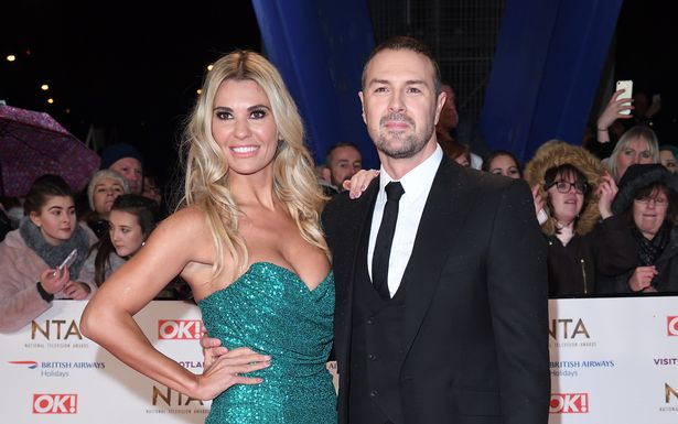 In the photo, Christine and Paddy at NTA's