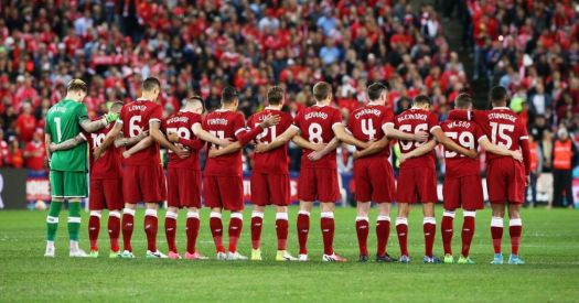 Liverpool and Sydney FC pay tribute to Manchester after ...