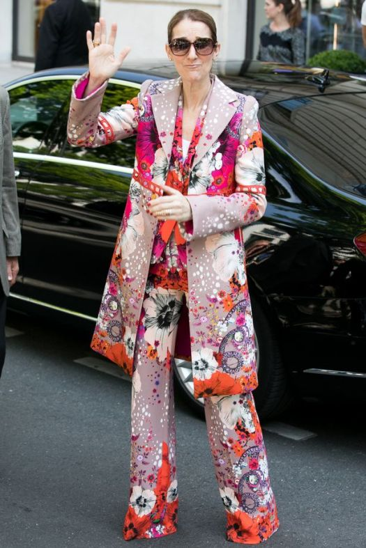 Fresh fears for Celine Dion as singer takes to wearing ...