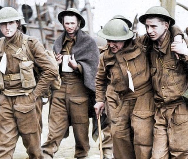 Injured Soldiers Are Rescued From Dunkirk Image Royston Leonard Mediadrumworld