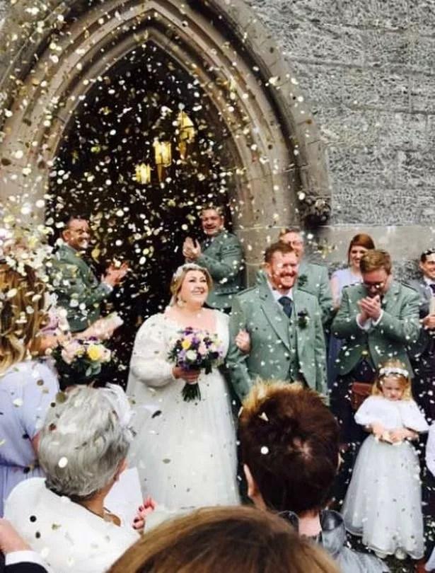 Michelle McManus Stuns On Her Wedding Day In Elegant