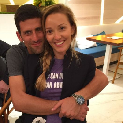 Novak Djokovic's wife shares 'beautiful' first snap of her ...