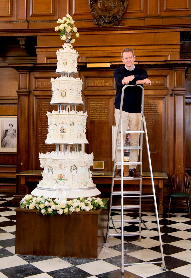 Queens 1947 Wedding Cake Recreated For TV Show And Its