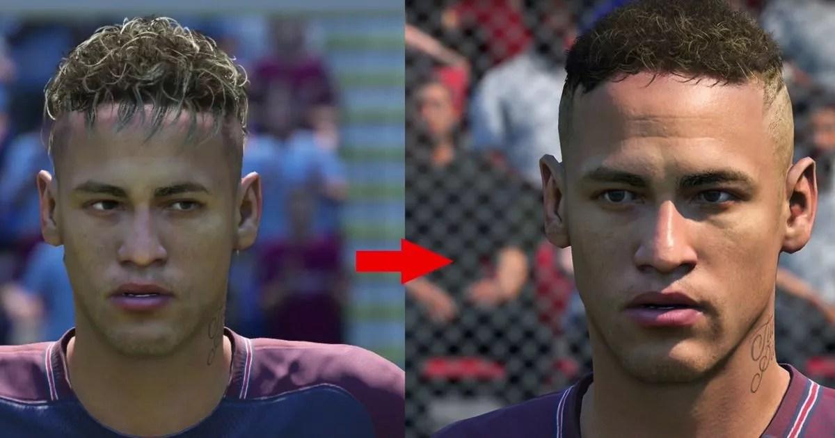 FIFA 18 Updates 58 Player Faces As Neymar And David Silva