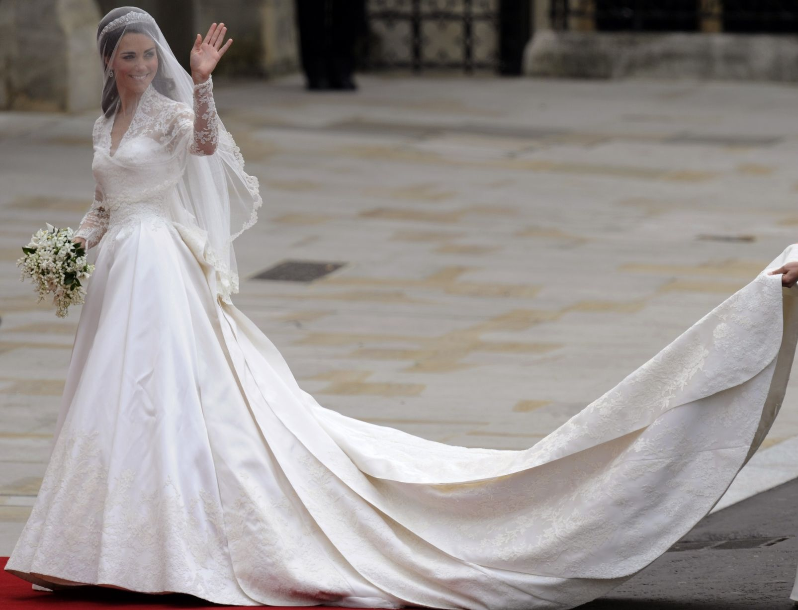 Royal Wedding Dresses In Pictures Brides From The Queen