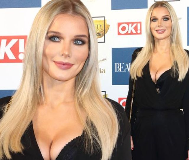 Coronation Streets Helen Flanagan Is Barely Recognisable At Beauty Bash