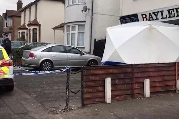 El cuerpo del hombre fue encontrado en la lavandería ayer por la noche