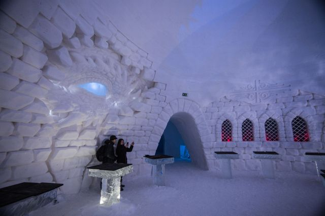 Image result for There's a Game of Thrones Hotel in Finland…Made Entirely of Ice