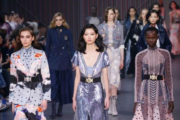 The London Fashion Week Festival 2018     GLAMSQUAD MAGAZINE Image result for London fashion Week 2018