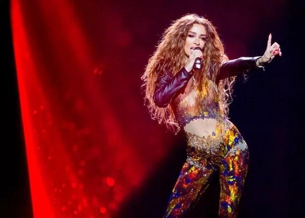 Znalezione obrazy dla zapytania eleni foureira eurovision