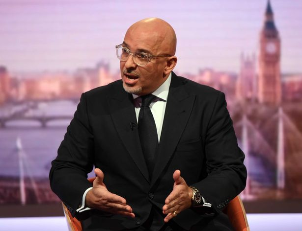 Conservative MP Nadhim Zahawi appearing on the BBC One current affairs programme, The Andrew Marr Show