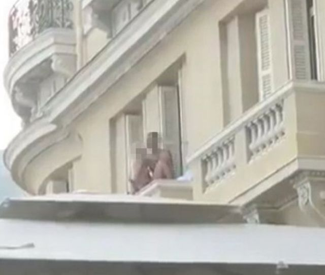 Randy Naked Couple Have Sex On Hotel Balcony In Monaco In Full View Of Stunned Restaurant Customers Below Mirror Online