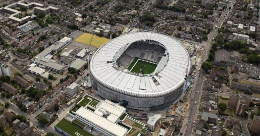New Tottenham stadium images show incredible progress on £ ...