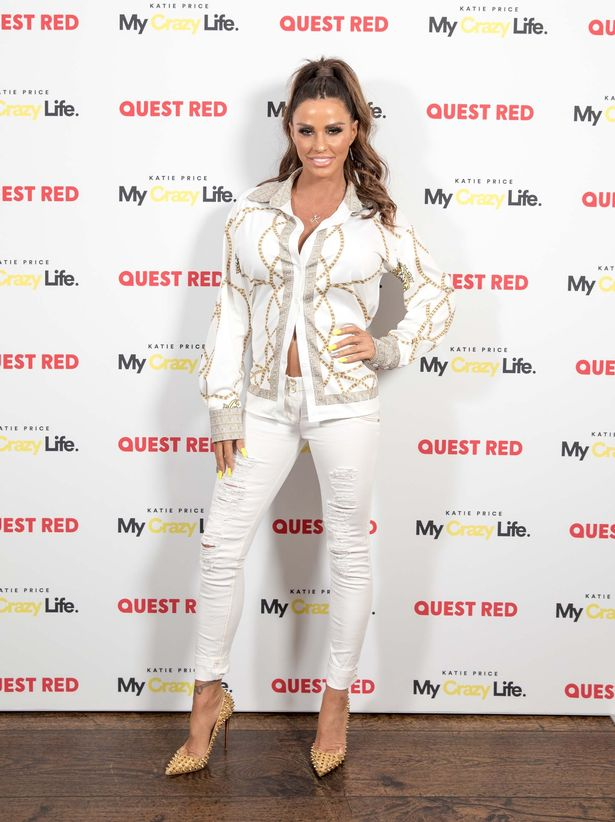 Katie Price goes full glam at TV launch after denying her kids were taken into care