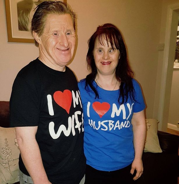 Maryanne and Tommy, from Southend-on-Sea, Essex, will soon celebrate 23 years of wedded bliss