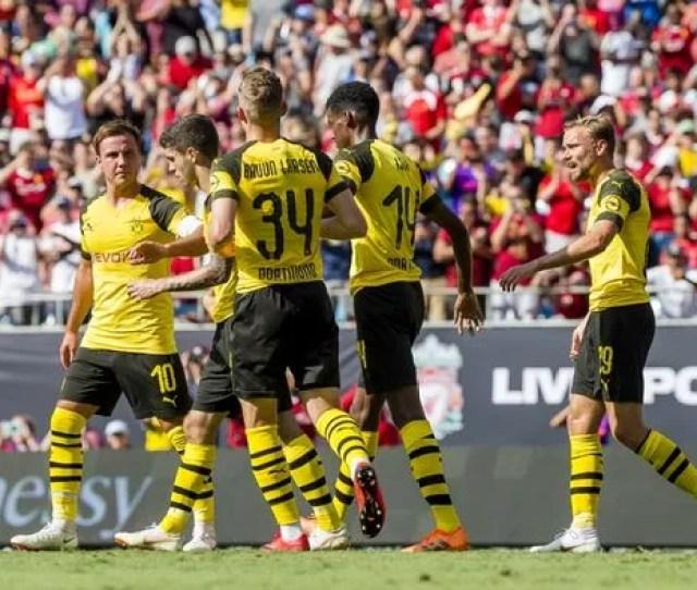 Jurgen Klopp Handed Fresh Defensive Headache As Liverpool Start Us Tour With Borussia Dortmund Defeat David Anderson Mirror Online