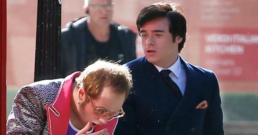 Bodyguard star Richard Madden seen SLAPPING 'Elton John ...