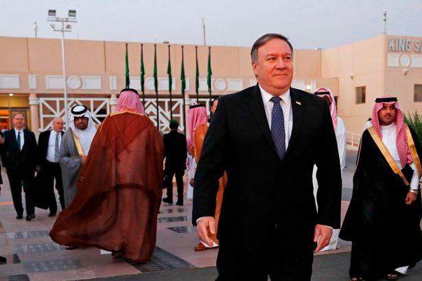 US Secretary of State Mike Pompeo, pictured, is set to meet with Turkey's President Tayyip Erdogan in Ankara today