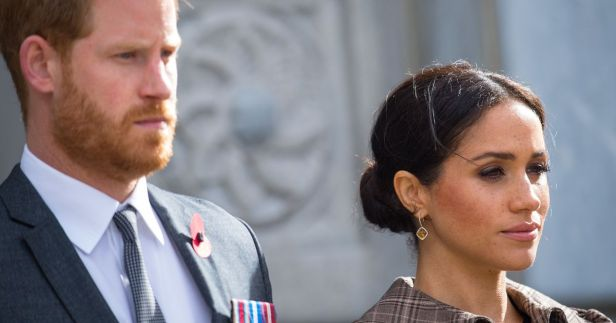 Worried Meghan and Harry left Halloween party after devastating phone call