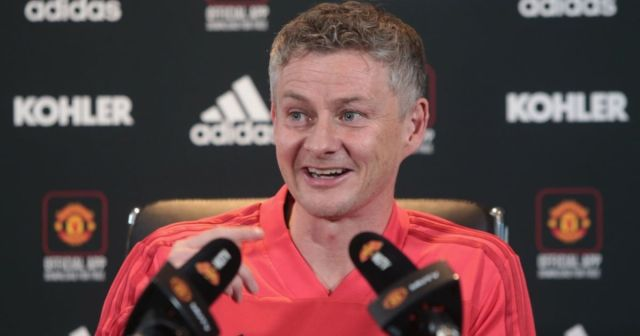 ole gunnar press conference fa cup