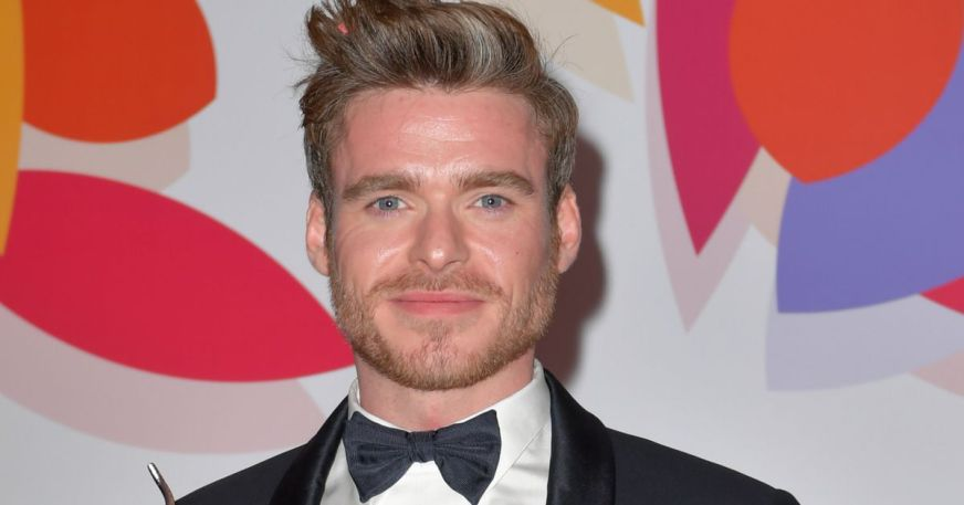 Bodyguard's Richard Madden sneaks out of NTAs with mystery ...