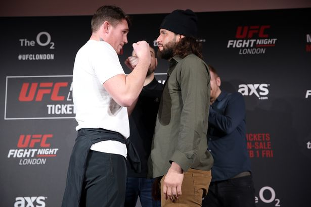 Image result for masvidal till press