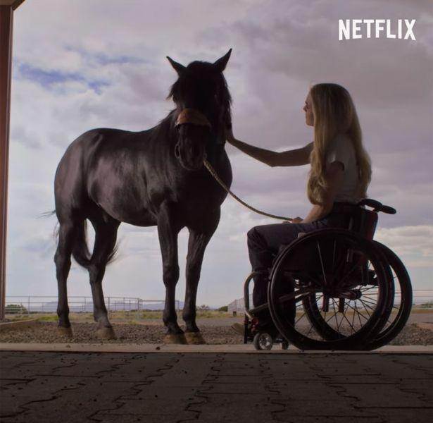 Netflix S Walk Ride Rodeo Tells True Story Of Paralysed