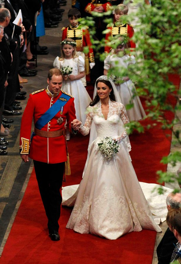 Kate and William wedding day
