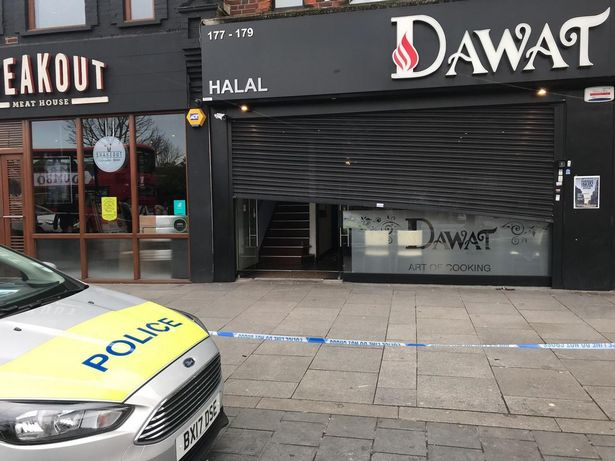 Seven people injured in knife 'fight' in west London restaurant