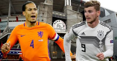 Holland vs Germany live score and goal updates