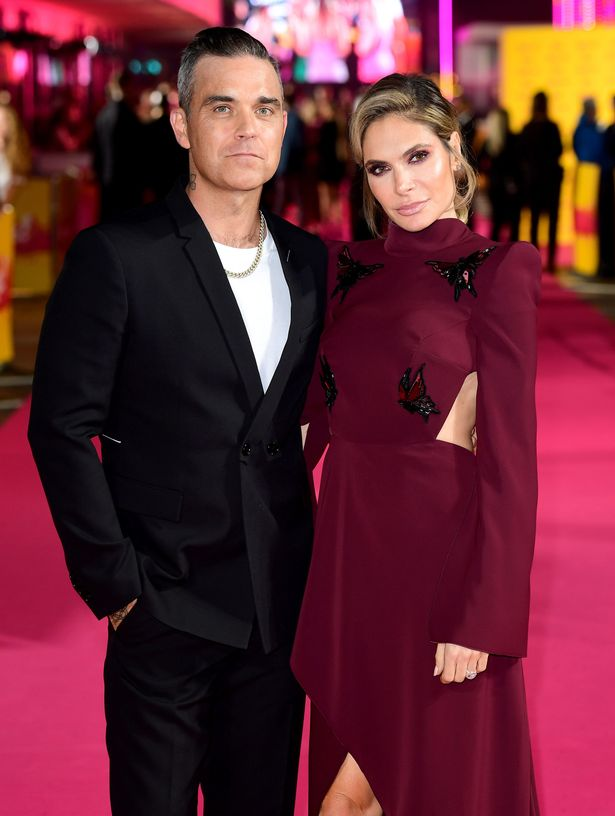 Robbie and Ayda reportedly wanted more money (Image: PA)