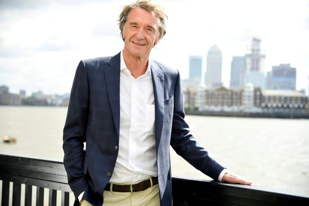James Ratcliffe is the UK's second richest person