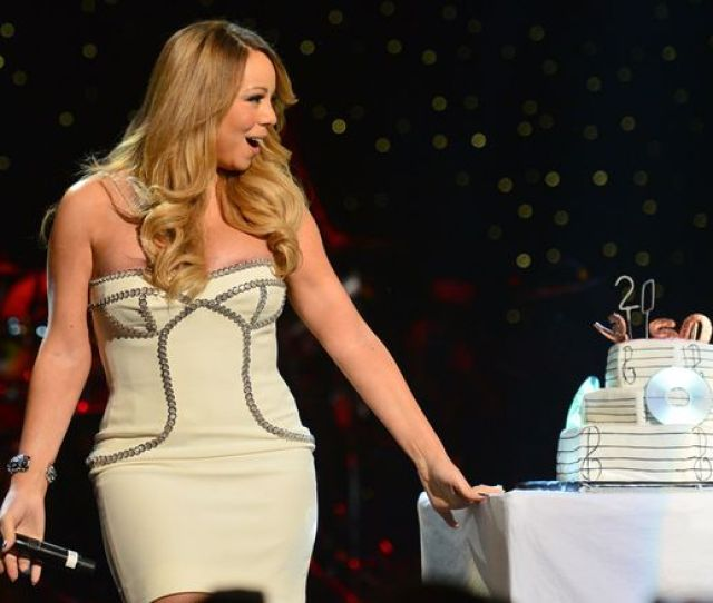 Mariah Carey On Stage At The So So Def 20th Anniversary Concert At The Fox Theatre