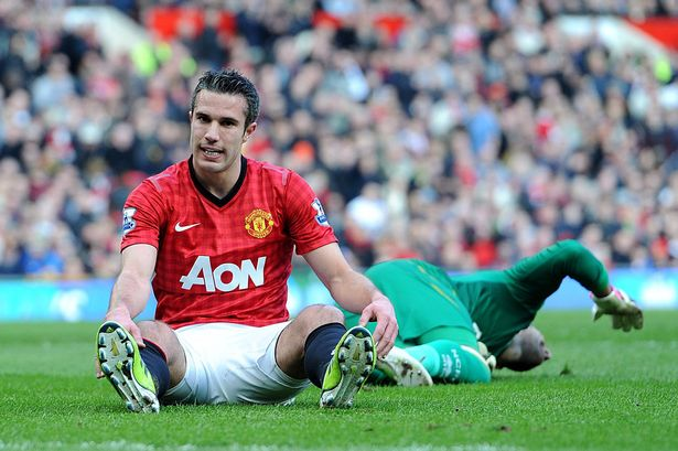 Robin van Persie may be suffering from 'intensity' of season with ...
