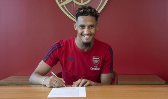 William Saliba is currently on loan at Nice