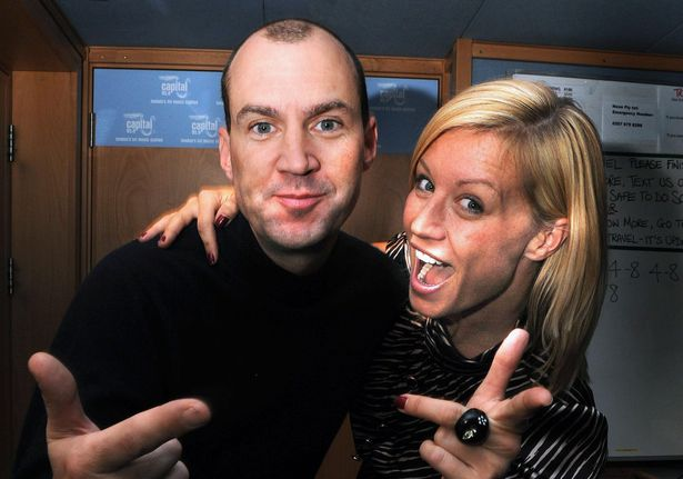 Johnny and Denise were reunited for their own radio show, but it didn't last long