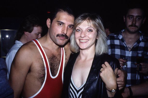 Freddie with the woman who was the love of his life, Mary Austin