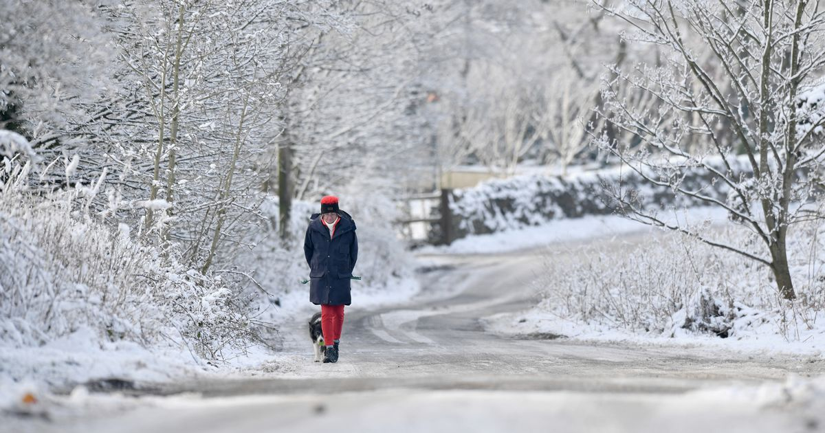 UK weather: snow on the cards as the biting cold snap dips mercury below zero