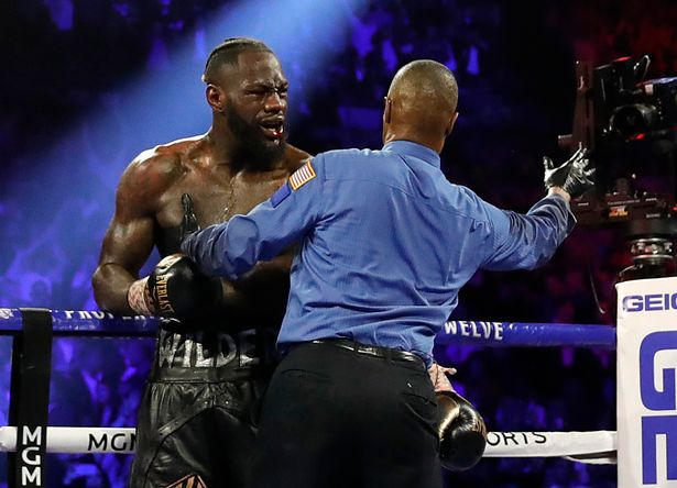 Wilder suffered a crushing defeat against Fury